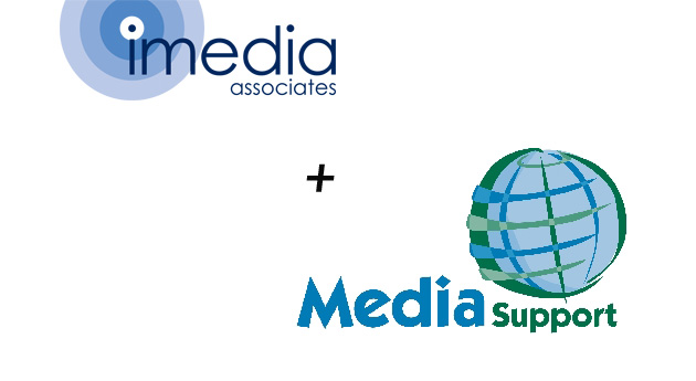 iMedia and Media Support logos